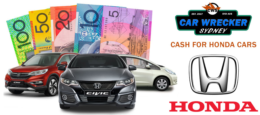 Cash for Honda Car Wreckers