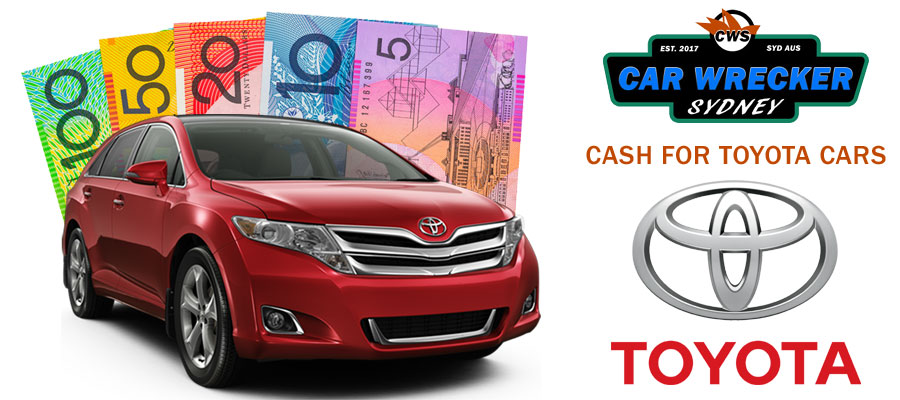Cash for Toyota Car Wreckers