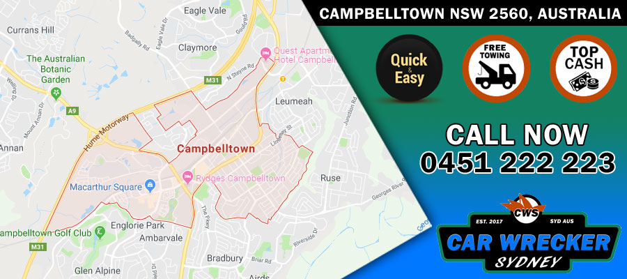 Sell My Car Campbelltown NSW 2560, Australia