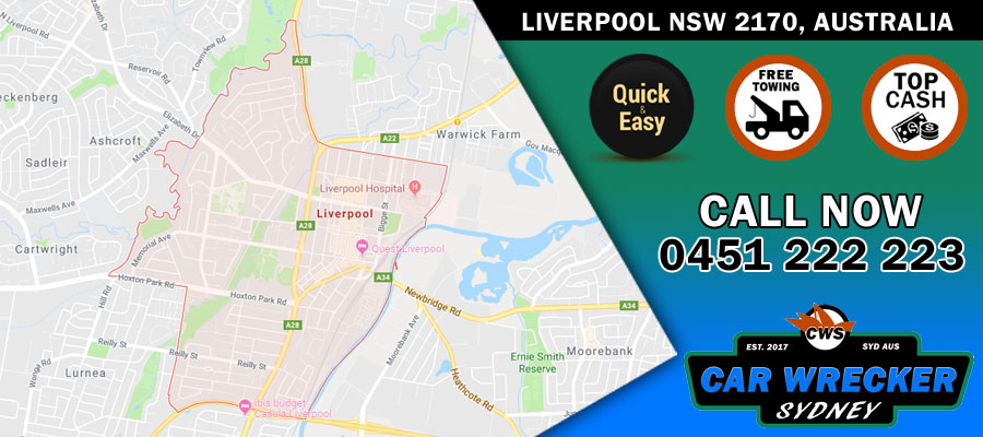 Car Removals Liverpool NSW 2170, Australia