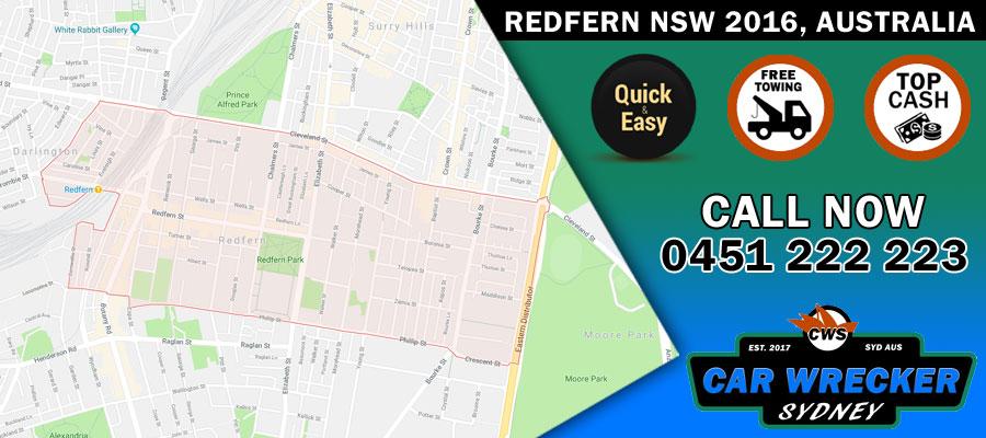Car Removals Redfern NSW 2016, Australia