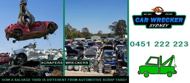 Salvage Yard VS Automotive Scrap Yard