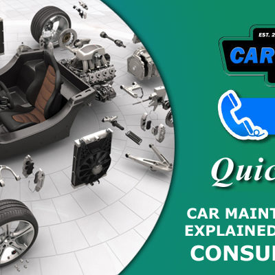 Car Maintenance Schedule Explained- When to Replace Consumable Parts