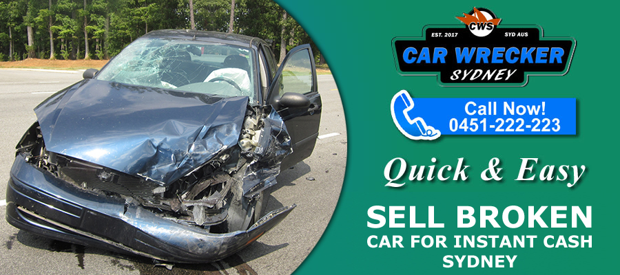 Sell Broken Car for Instant Cash Sydney